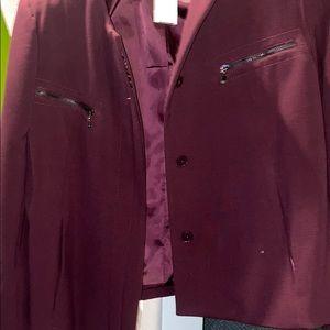 Plum/Wine Colored Blazer